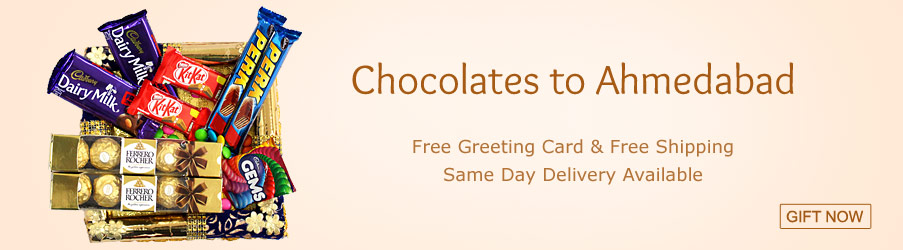 Chocolates to Ahmedabad