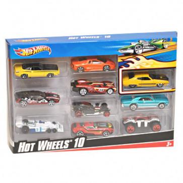 Hotwheels Set of 10 Cars