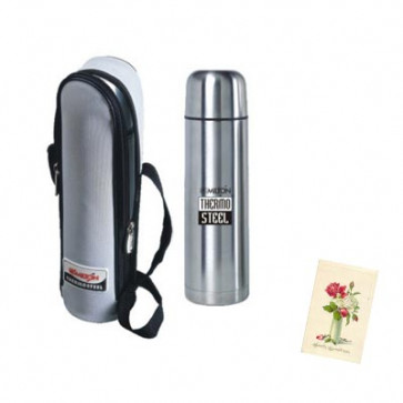 Milton Thermosteel Flask 1 Ltr