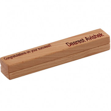 Corporate Wooden Gift Set & Card