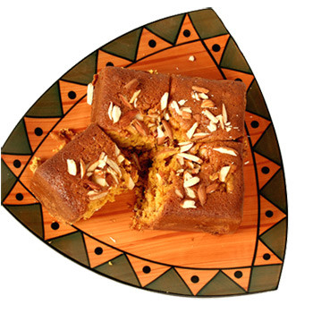 Vanilla Butterscotch Brownies