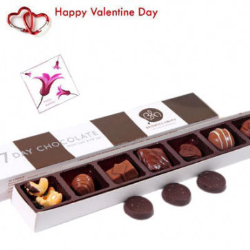 7 Day Chocolate Pack - 7 Day Chocolate Pack and Card
