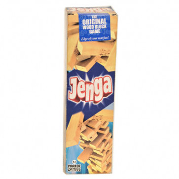 Jenga Original Wood Block Game