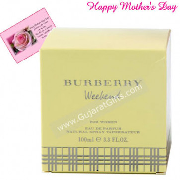 Burberry Weekend and Card