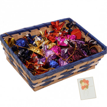 Attractive Choco Gift - Handmade Chocolates 400 gms in Basket