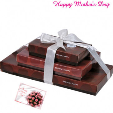 Chocolate Lovers Gift Tower 36 pcs and Card