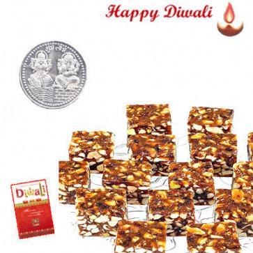 Date Sugarfree - Date Sugarfree 1 kg with Laxmi-Ganesha Coin