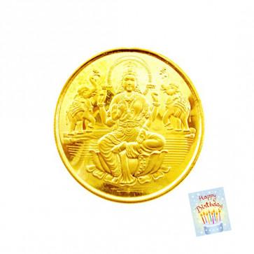 22 Karat Gold Coin (1 gram)
