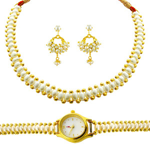 Shringar Pearl Set