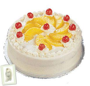 Pineapple Cake 1/2 Kg + Card