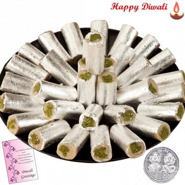 Pista Roll - Pista Roll 500 gms with Laxmi-Ganesha Coin