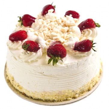 Stawberry Cake 1/2 Kg + Card