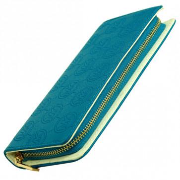 Blue Clutch (8 inch by 4 inch)
