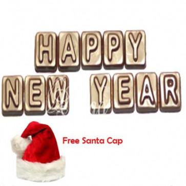Happy New Year Alphabets