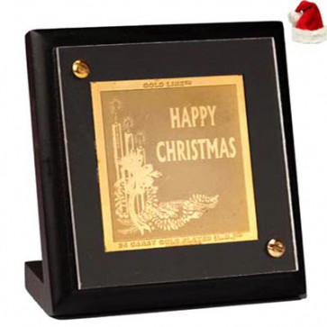 Pure Gold Merry Christmas Stand