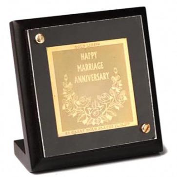 Pure Gold Happy Anniversary Stand