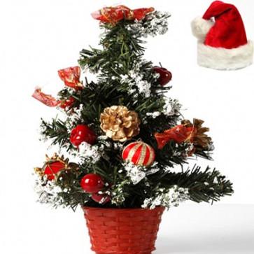 Snow Christmas Tree With Décor
