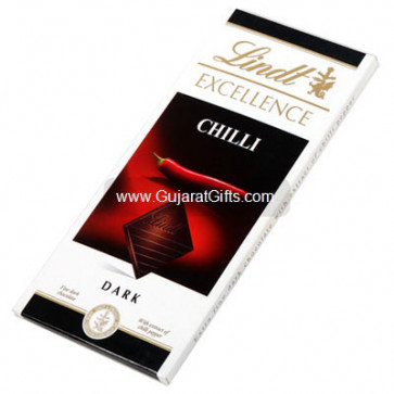 Lindt Excellence Chilli Dark Chocolate