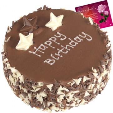 Five Star Bakery - Chocolate Bite 1 Kg + Card