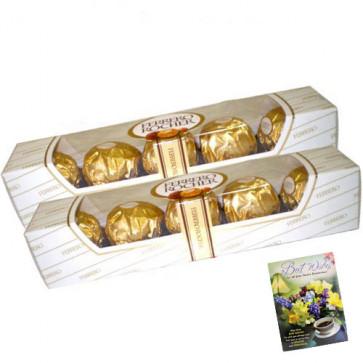 2 Ferrero Rocher 4 Pcs each