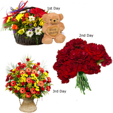 3 Day Serenade : Charming Flowers