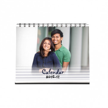 Classic Table Calendar - 6 inches X 8 inches & Card