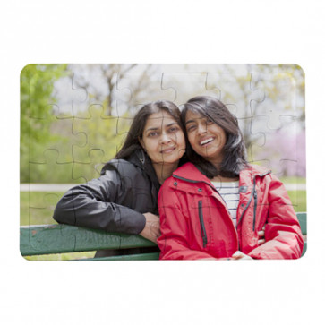 Personalized Jigsaw Puzzle - 6 inches x 8 inches & Card