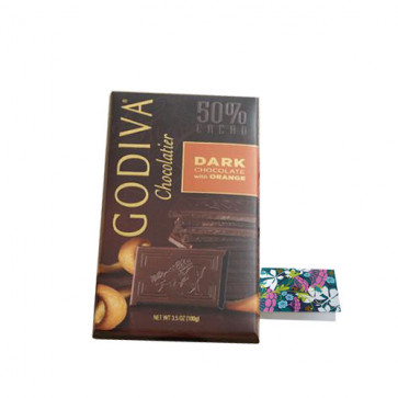 Godiva Chocolatier - Dark Chocolates With Orange 100 gms