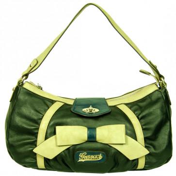 Green Handbag (10 inch by 12 inch)