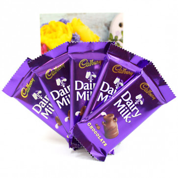 Diary Milk Special - 5 Dairy Milk and Card