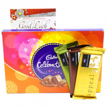 Tempting Celebration - Cadbury Celebrations, 3 Temptations and Card