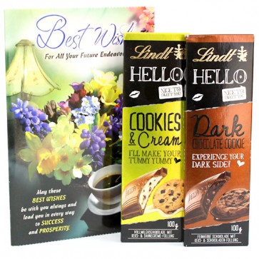 Sweet Hello - Lindt Hello Chocolates and Card