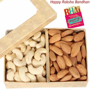 Kaju Badam 400 gms (Rakhi & Tika NOT Included)