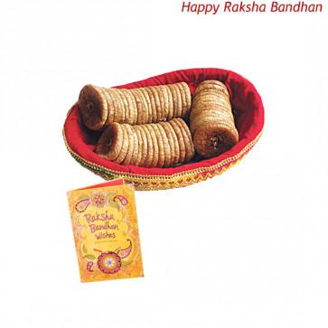 Anjeer Basket (Rakhi & Tika NOT Included)
