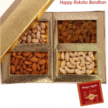 Assorted Dryfruits 500 gms (Rakhi & Tika NOT Included)
