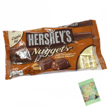 Hershey's Nuggets - Extra Creamy Milk Chocolate with Toffee & Almonds