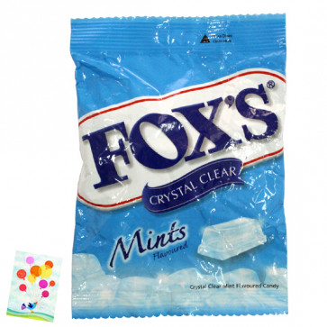 Fox's Crystal Clear - Mint Flavour