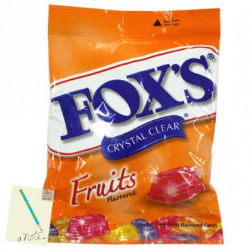 Fox's Crystal Clear - Fruit Flavour