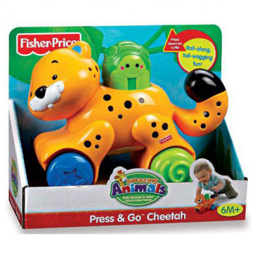 Fisher Price Press and Go Cheetah
