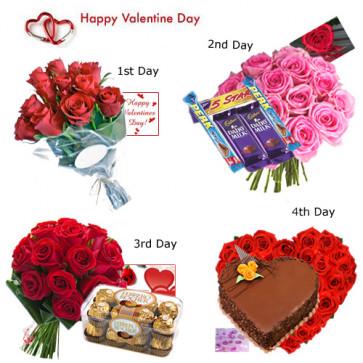 4 Days Valentine Treat