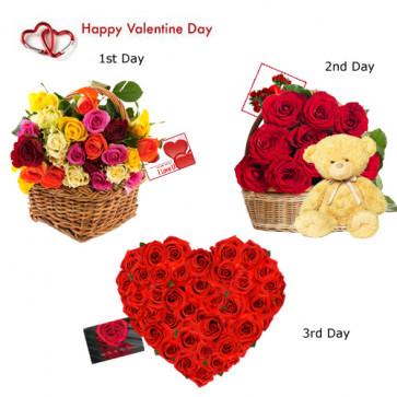3 Days Valentine Gifts