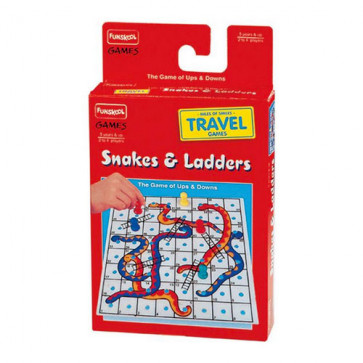 Funskool Travel Snakes & Ladders (Dom)