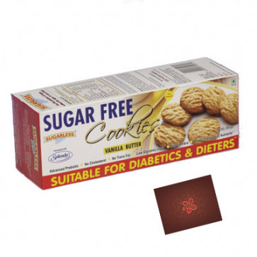Sugarless Bliss Cookies Natural Vanila Butter
