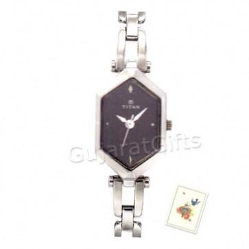 Titan Silver Watch