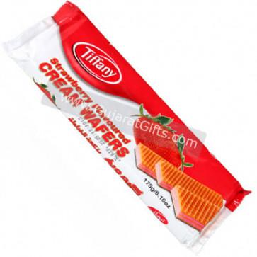 Strawberry Cream Wafers