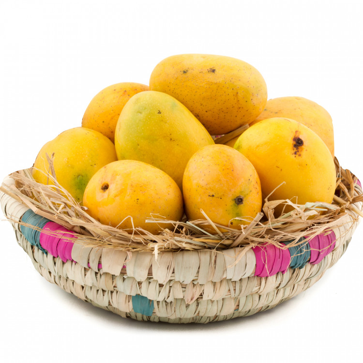 shop outlet online cheapest price Tasty Mangoes - Fresh Alphonso Mango 12 Pcs in Basket and Card
