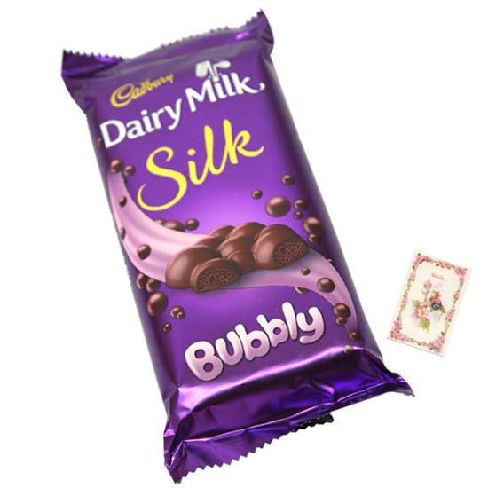 Dairy Milk Silk Bubbly