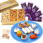 All That You Want - Kaju Mix, Assorted Dryfruits, 5 Dairy milk