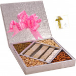 Katli Treat - Kaju Katli 500 gms, Assorted Dry fruits 500 gms