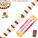 Alluring Pearl Constellation Rakhi